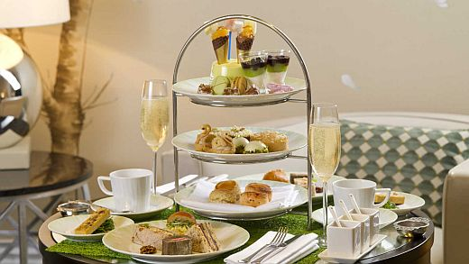The Knightsbridge Lounge Autumn Afternoon Tea at The Park Tower