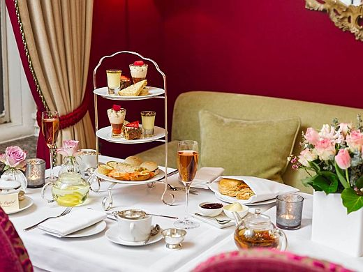 The Capital Hotel Afternoon Tea Table